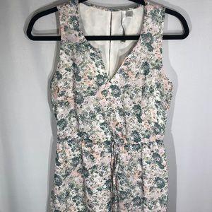 EUC Pastel Floral Maxi Dress